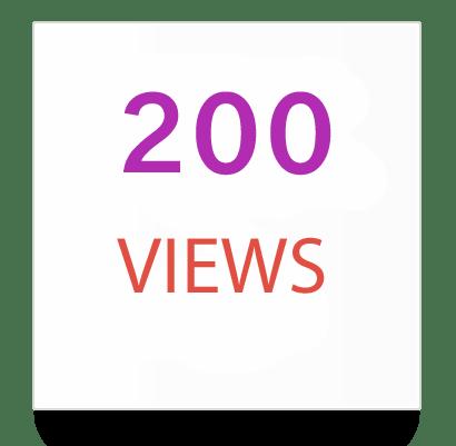 200 instagram views