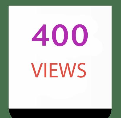 400 instagram views