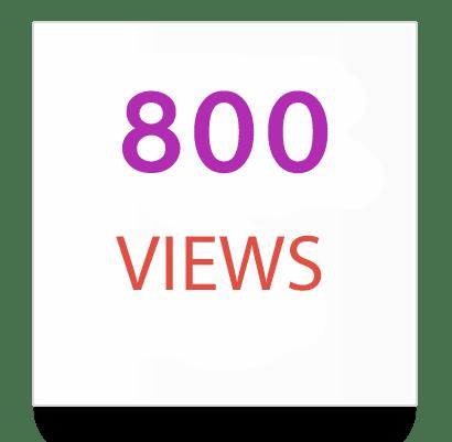 800 instagram views